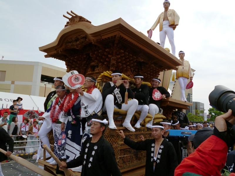 2013年岸和田だんじり祭り 春木地区 春木旭町パレード写真