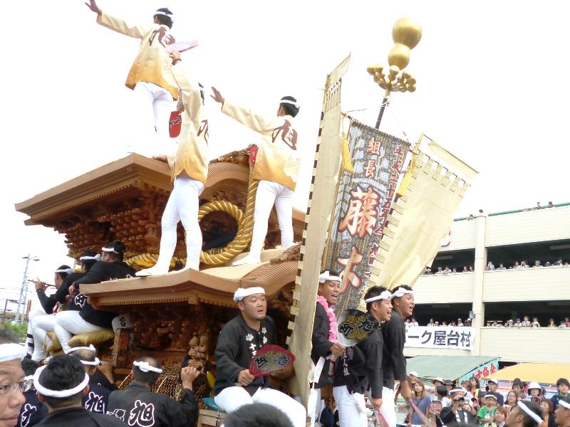 2013年岸和田だんじり祭り 春木地区 春木旭町パレード写真 2